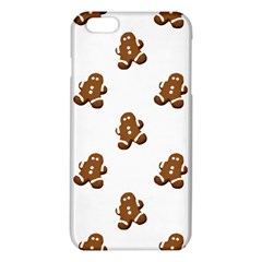 Gingerbread Seamless Pattern Iphone 6 Plus/6s Plus Tpu Case by Nexatart
