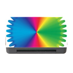 Rainbow Seal Re Imagined Memory Card Reader With Cf by Nexatart