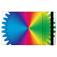 Rainbow Seal Re Imagined Apple Ipad 3/4 Flip Case