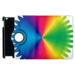 Rainbow Seal Re Imagined Apple Ipad 3/4 Flip 360 Case by Nexatart