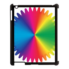 Rainbow Seal Re Imagined Apple Ipad 3/4 Case (black) by Nexatart