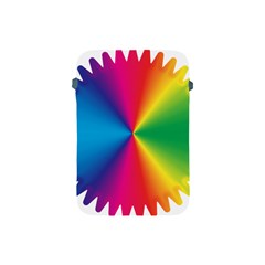 Rainbow Seal Re Imagined Apple Ipad Mini Protective Soft Cases by Nexatart
