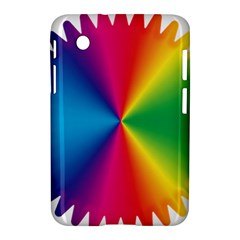 Rainbow Seal Re Imagined Samsung Galaxy Tab 2 (7 ) P3100 Hardshell Case  by Nexatart