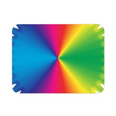 Rainbow Seal Re Imagined Double Sided Flano Blanket (mini)