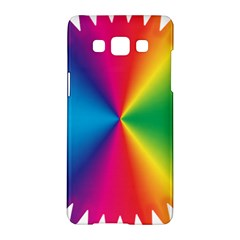 Rainbow Seal Re Imagined Samsung Galaxy A5 Hardshell Case  by Nexatart