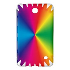 Rainbow Seal Re Imagined Samsung Galaxy Tab 4 (8 ) Hardshell Case  by Nexatart