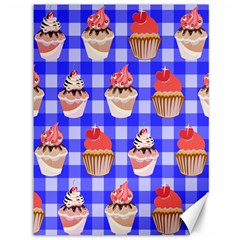Cake Pattern Canvas 36  X 48   by Nexatart