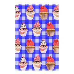 Cake Pattern Shower Curtain 48  X 72  (small)  by Nexatart