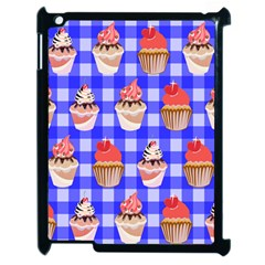 Cake Pattern Apple Ipad 2 Case (black) by Nexatart