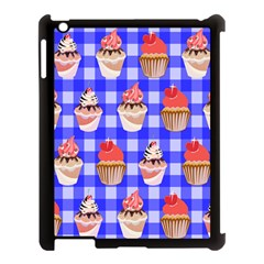Cake Pattern Apple Ipad 3/4 Case (black)