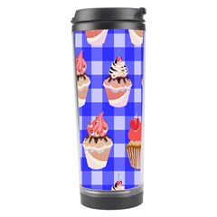 Cake Pattern Travel Tumbler by Nexatart