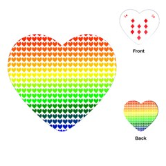 Rainbow Love Playing Cards (heart)  by Nexatart