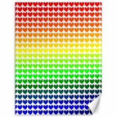 Rainbow Love Canvas 18  X 24   by Nexatart