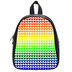 Rainbow Love School Bags (small)