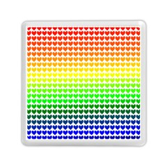 Rainbow Love Memory Card Reader (square)  by Nexatart
