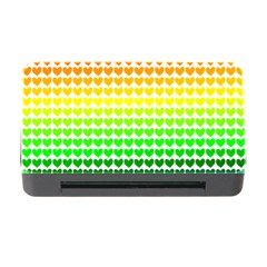 Rainbow Love Memory Card Reader With Cf by Nexatart