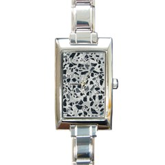 Textures From Beijing Rectangle Italian Charm Watch by Nexatart