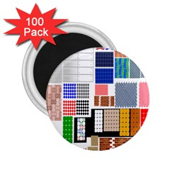 Texture Package 2 25  Magnets (100 Pack)