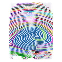 Prismatic Fingerprint Apple Ipad 3/4 Hardshell Case by Nexatart