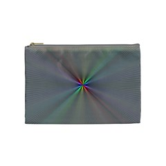 Square Rainbow Cosmetic Bag (medium)  by Nexatart