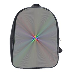 Square Rainbow School Bags (xl)  by Nexatart