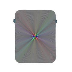 Square Rainbow Apple Ipad 2/3/4 Protective Soft Cases by Nexatart