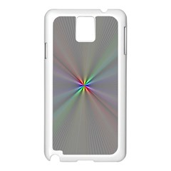 Square Rainbow Samsung Galaxy Note 3 N9005 Case (white)