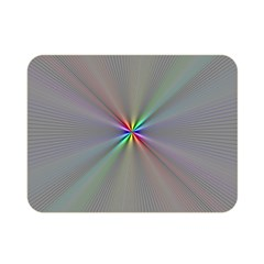 Square Rainbow Double Sided Flano Blanket (mini)