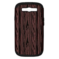 Grain Woody Texture Seamless Pattern Samsung Galaxy S Iii Hardshell Case (pc+silicone) by Nexatart