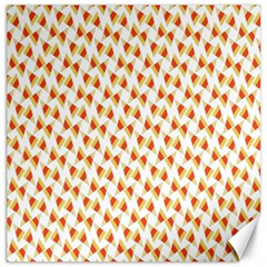 Candy Corn Seamless Pattern Canvas 12  X 12