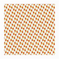 Candy Corn Seamless Pattern Medium Glasses Cloth