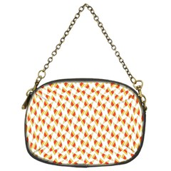 Candy Corn Seamless Pattern Chain Purses (two Sides)  by Nexatart