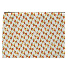 Candy Corn Seamless Pattern Cosmetic Bag (xxl)  by Nexatart