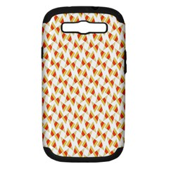 Candy Corn Seamless Pattern Samsung Galaxy S Iii Hardshell Case (pc+silicone)