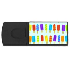 Popsicle Pattern Usb Flash Drive Rectangular (4 Gb)