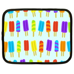 Popsicle Pattern Netbook Case (xxl)  by Nexatart