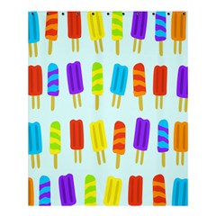 Popsicle Pattern Shower Curtain 60  X 72  (medium)  by Nexatart