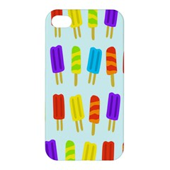 Popsicle Pattern Apple Iphone 4/4s Premium Hardshell Case