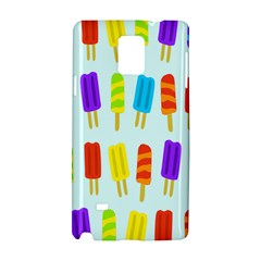 Popsicle Pattern Samsung Galaxy Note 4 Hardshell Case by Nexatart