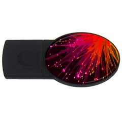 Big Bang Usb Flash Drive Oval (2 Gb) by ValentinaDesign