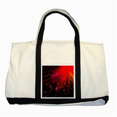 Big Bang Two Tone Tote Bag by ValentinaDesign