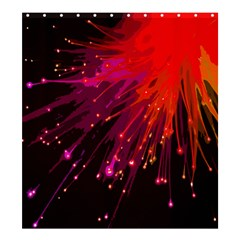 Big Bang Shower Curtain 66  X 72  (large)
