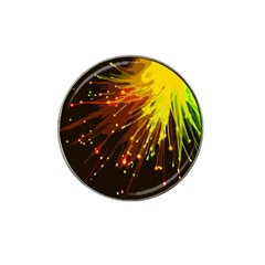 Big Bang Hat Clip Ball Marker by ValentinaDesign