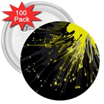 Big bang 3  Buttons (100 pack)  Front