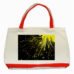 Big Bang Classic Tote Bag (red) by ValentinaDesign
