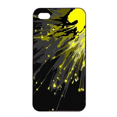 Big Bang Apple Iphone 4/4s Seamless Case (black) by ValentinaDesign
