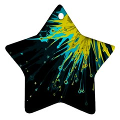Big Bang Star Ornament (two Sides) by ValentinaDesign