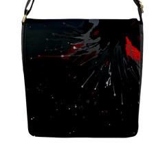 Big Bang Flap Messenger Bag (l)  by ValentinaDesign