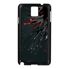 Big Bang Samsung Galaxy Note 3 N9005 Case (black) by ValentinaDesign