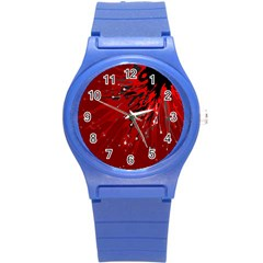Big Bang Round Plastic Sport Watch (s) by ValentinaDesign